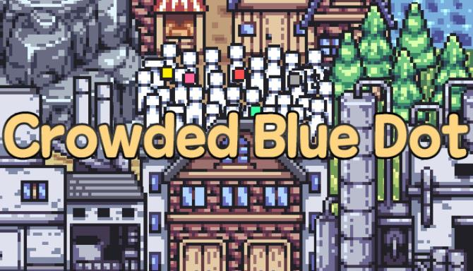 Crowded Blue Dot free download