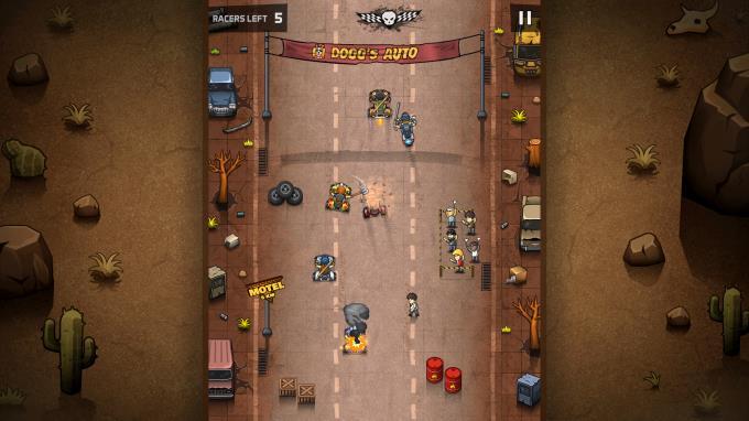 Rude Racers: 2D Combat Racing Torrent Download