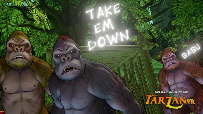 Tarzan VR  Issue #1 - THE GREAT APE PC Crack