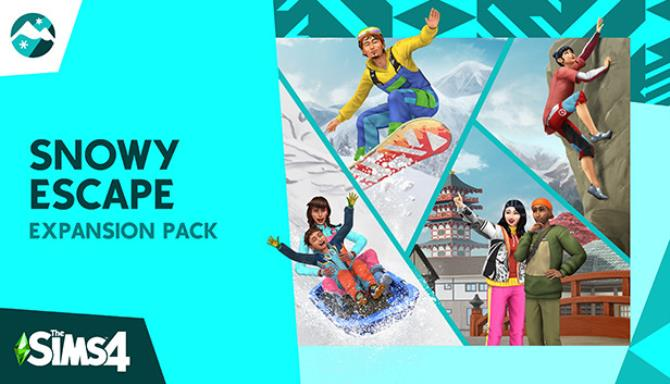 The Sims 4 Snowy Escape (v1.70.84.1020 & ALL DLC) free download