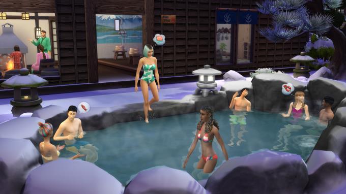 The Sims 4 Snowy Escape PC Crack
