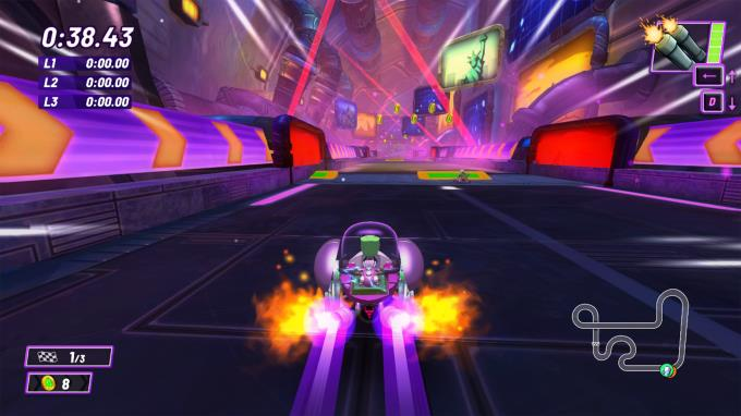 Nickelodeon Kart Racers 2: Grand Prix PC Crack