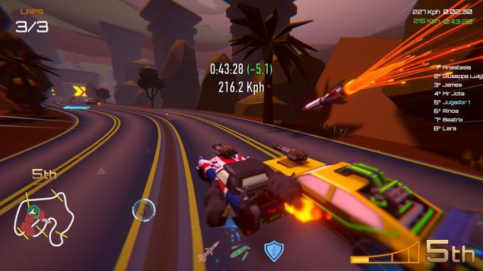 Motor Strike: Racing Rampage Torrent Download