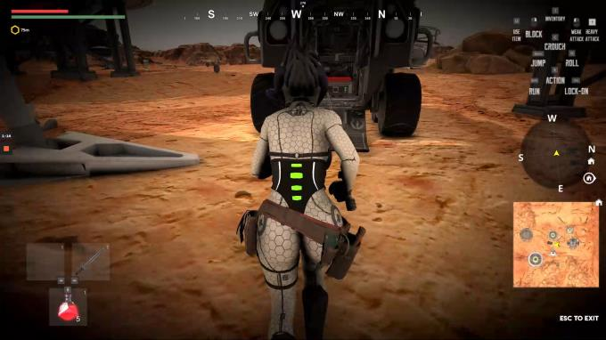 Outcast in Mars PC Crack