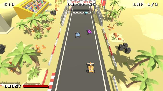 Formula Bit Racing PC Crack