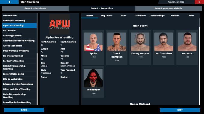 Pro Wrestling Sim PC Crack