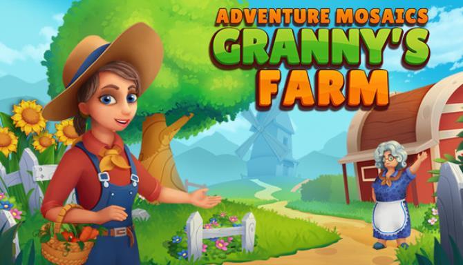 Adventure Mosaics. Granny's Farm Free Download