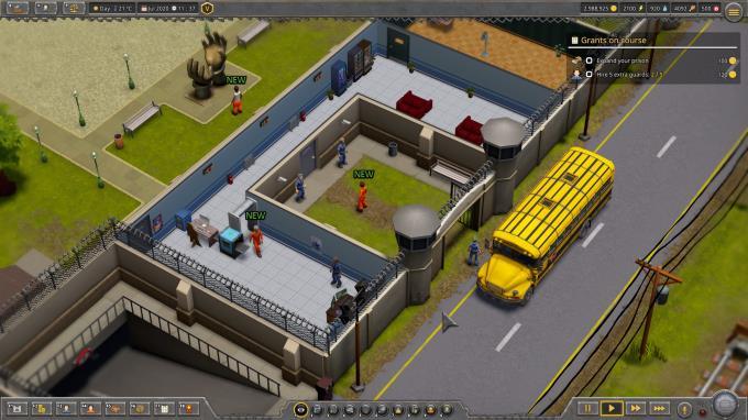 Prison Tycoon: Under New Management PC Crack