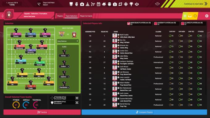 Rugby League Team Manager 3 PC Crack