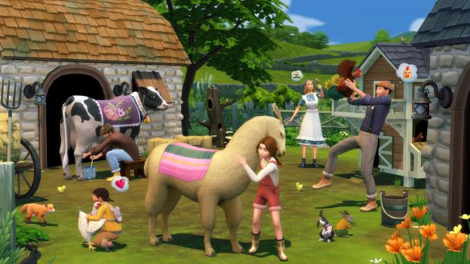 The Sims 4 Cottage Living Expansion Pack PC Crack