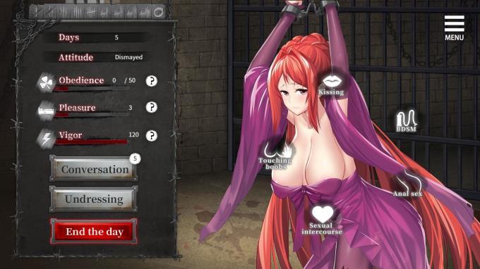 Imprisoned Queen PC Crack